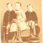 Donald Munro, Annie Munro, Harry Munro Folkstone