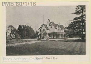 Whitehall Chigwell Row Chigwell Essex
