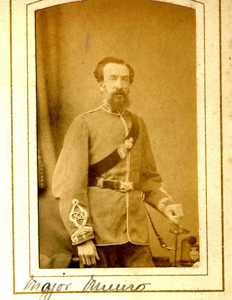 Major Donald Munro (1832-88)