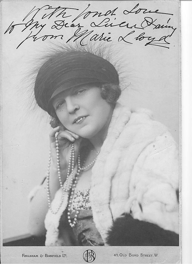 Marie Lloyd 1870-1922 Music Hall
