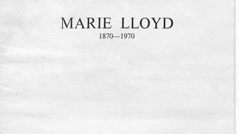 Marie Lloyd – Centenary Service 1970