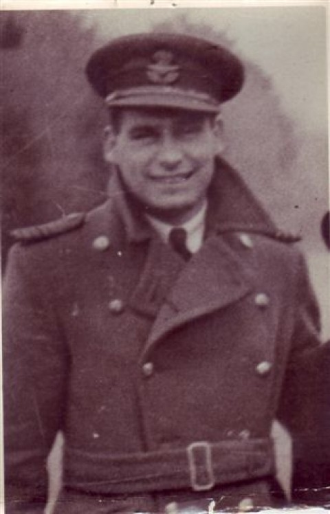 Squadron Leader Wilfred Protheroe DFC.