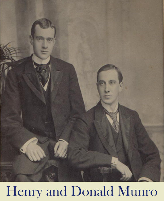 Henry and Donald Munro Tain